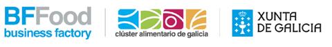Logotipo BFFood Cluster alimentario de Galicia y Xunta de Galicia