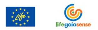 Logotipo Life Gaia Sense
