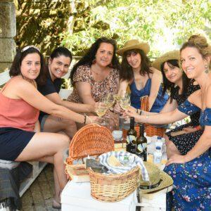 fotografía Picnic entre viñedos