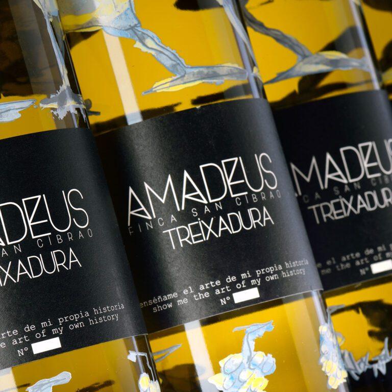 fotografía Costeira Amadeus Treixadura caja de 6 botellas