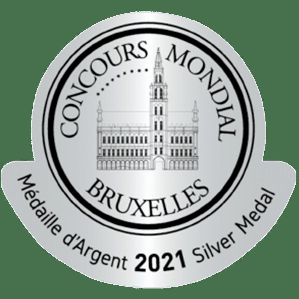 imagen medalla de plata Concours Mondial Bruxelles