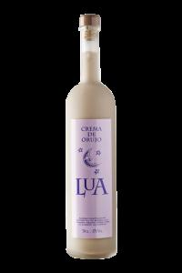 fotografía botella Costeira Lúa Crema de Orujo