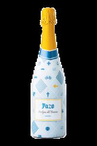 fotografía botella Costeira Pazo Burbujas del Camino